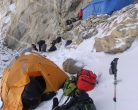 Day 58 - Camp below Tashi Labsta and falling ice chunks